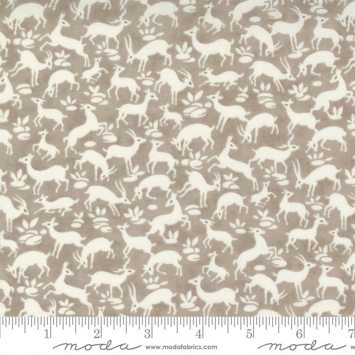 Moda - Pumpkins Blossoms - Frolic Animal Deer, Pebble