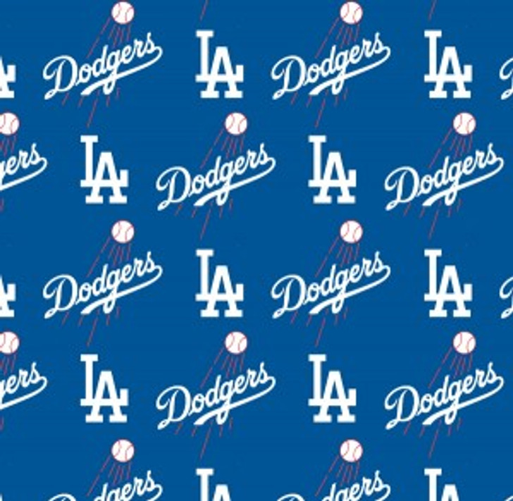 Fabric Traditions - MLB - Los Angeles Dodgers, Blue