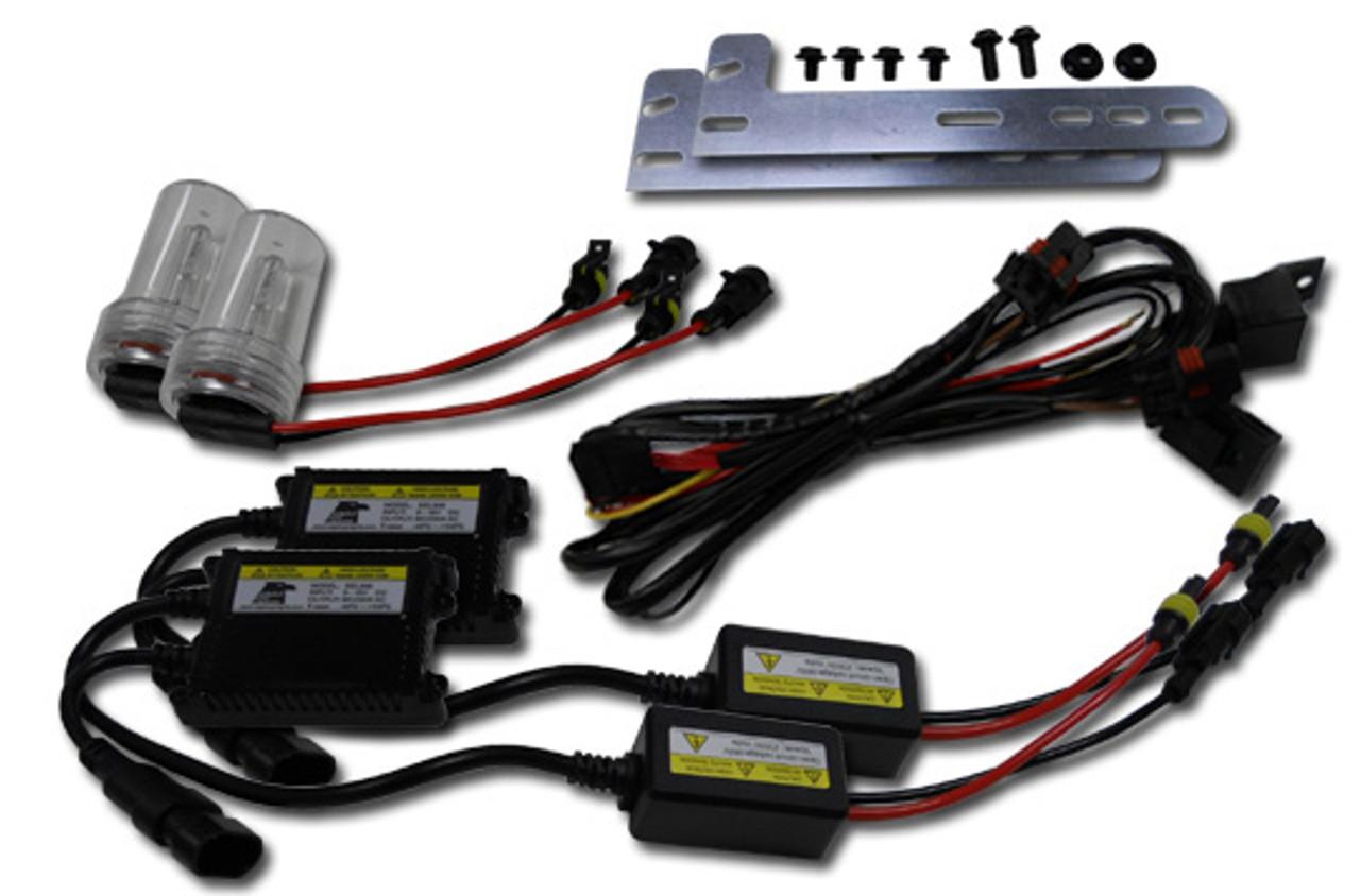 Kawasaki Teryx & Teryx4 750 (10-17) 35W HID Conversion Kit on