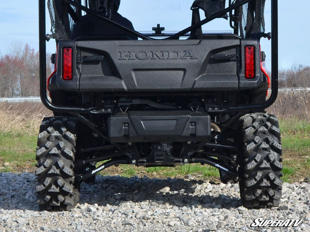 Honda Pioneer 1000 SuperATV Rear Offset Arched A-Arms