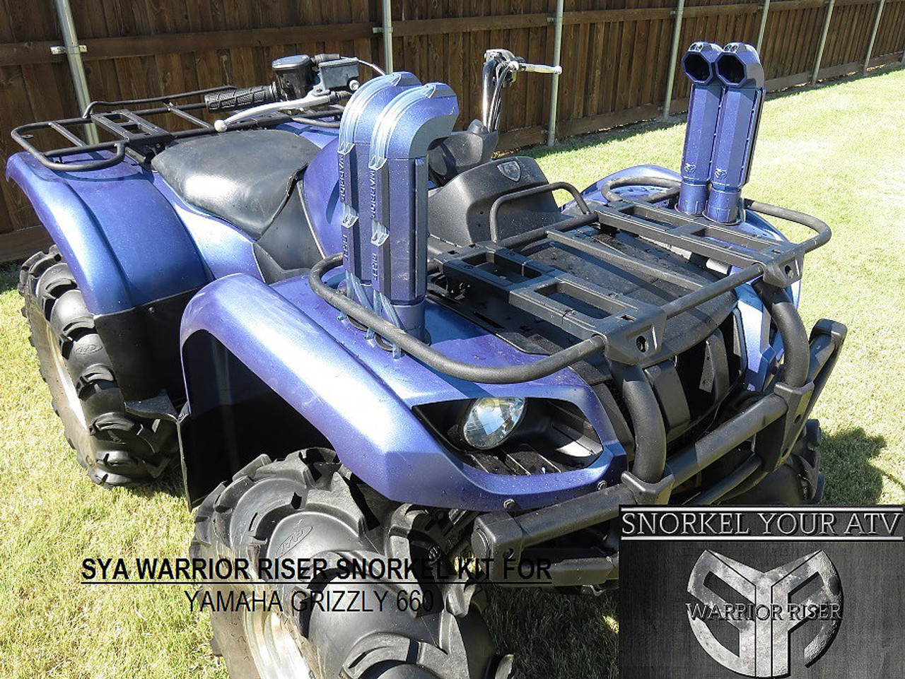 Yamaha Grizzly 660 >> Yamaha Grizzly 660 02 08 Sya Warrior Snorkel Kit