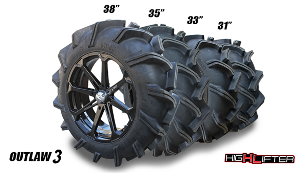 Outlaw 3 Mud Tires 28 44 High Lifter