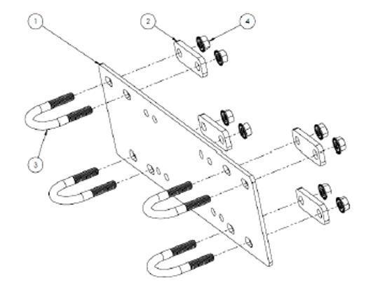 honda pioneer aftermarket parts accessories  honda pioneer 1000 winch mounting plate