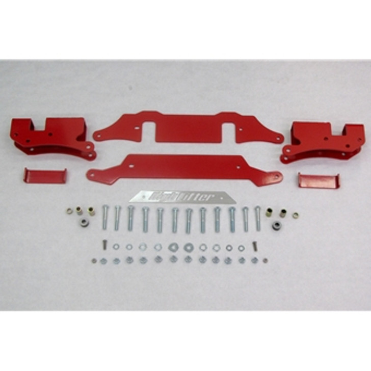 "Polaris RZR XP 1000 (2014) High Lifter 3""-5"" Lift Kit - Red"
