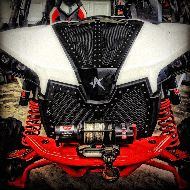 Can-Am Maverick 1000 (13-16) Rogue Offroad Mesh Grille & Hood Combo
