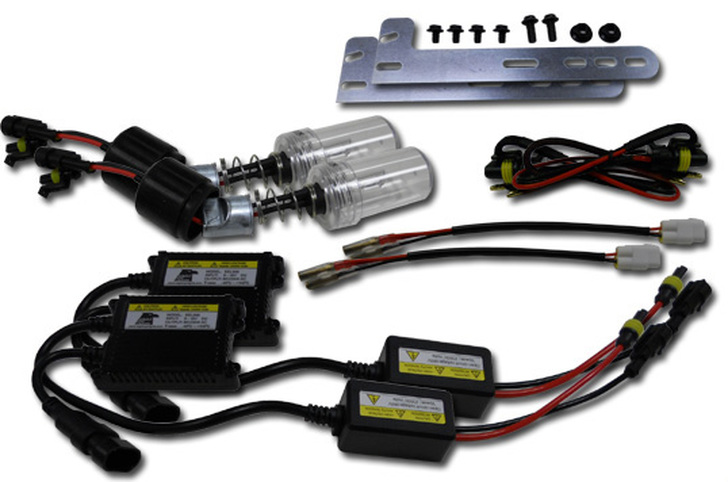 Yamaha Grizzly 350/400/450/660 35W HID Conversion Kit