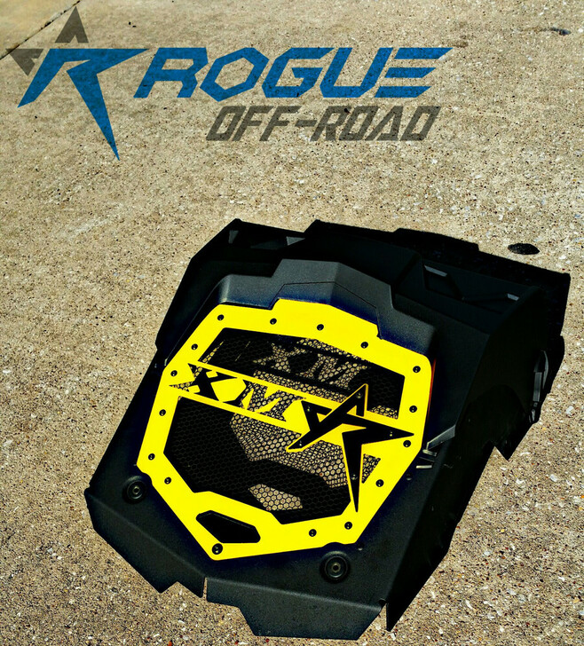 Can-Am Outlander XMR Rogue Radiator Cover