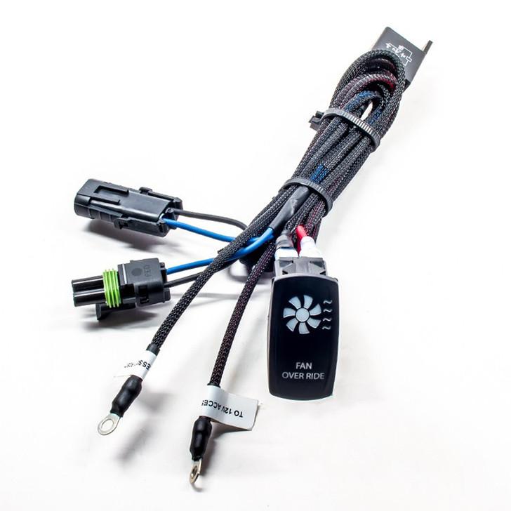 Polaris RZR XP Turbo (15-16) Fan Override Kit w/ Back Lit Switch