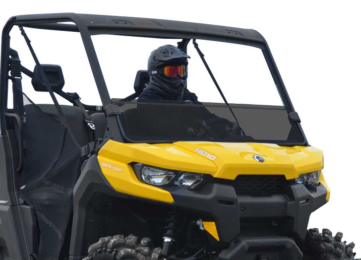 Can-Am Defender Tinted Half Windshield