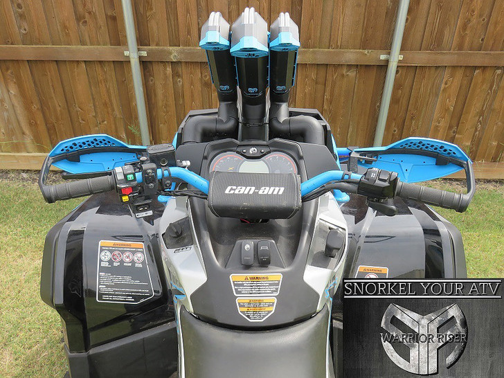 Can-Am Outlander GEN 2 XMR Snorkel Kit
