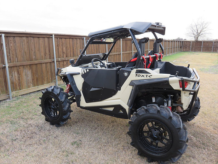 "Polaris RZR 900 Dual 2"" SYA Warrior Snorkel Kit"