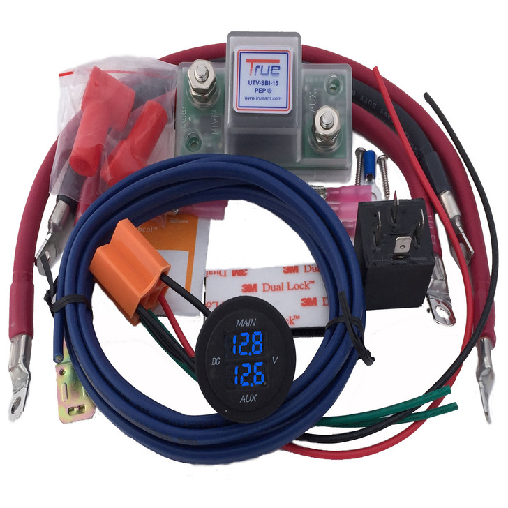 TrueAm Dual Battery Kit with Volt Meter