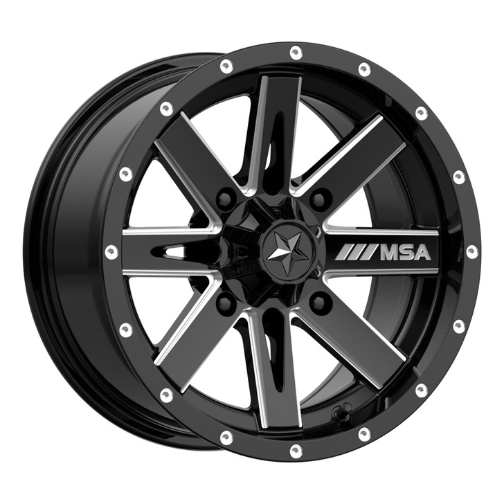 """14"""" MSA M41 Boxer Wheels"""
