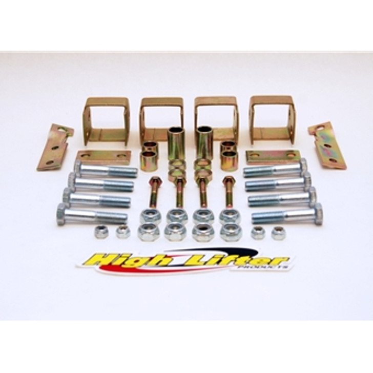 """Yamaha Grizzly 660 (02-08) High Lifter 2"""" Front/Rear Lift Kit"""
