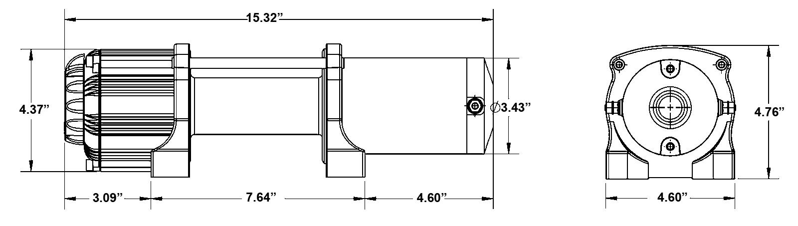 SuperATV 5000 LB Winch