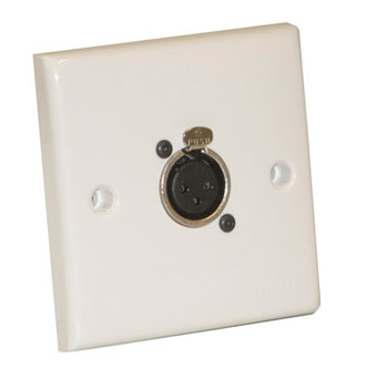 White Single Flush/Surface Mounting Signal Outlet Plate (NC3FDL1)- F267ZB