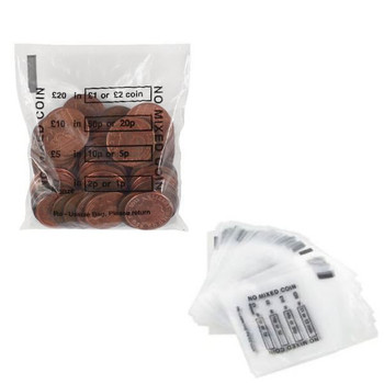Cash Denominated Coin Bags (Pack of 5000) BEVORBS0001