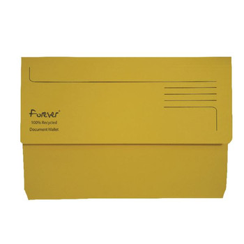 Porte-documents Guildhall Forever Bright Yellow (paquet de 25) 211/5003