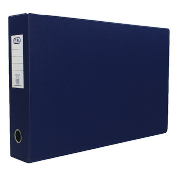 Elba A3 70mm Blue Plastic Lever Arch File (Pack of 2) 400008441