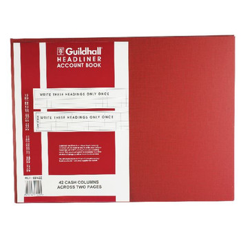 Guildhall Headliner Livre 80 Pages 298x405mm 68/42 1449