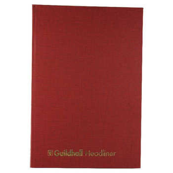 Guildhall Headliner Livre 80 Pages 298x203mm 38/14 1151
