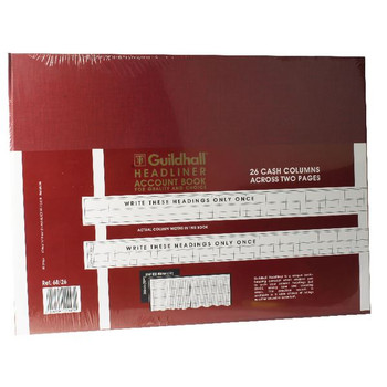 Guildhall Headliner Livre 80 Pages 298x405mm 68/26 1447