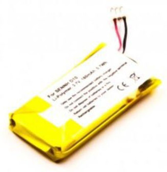 180mAh MicroBattery MBXMISC0191 Lithium-Ion Li-ion 3.7V batterie rechargeable MBXMISC0191