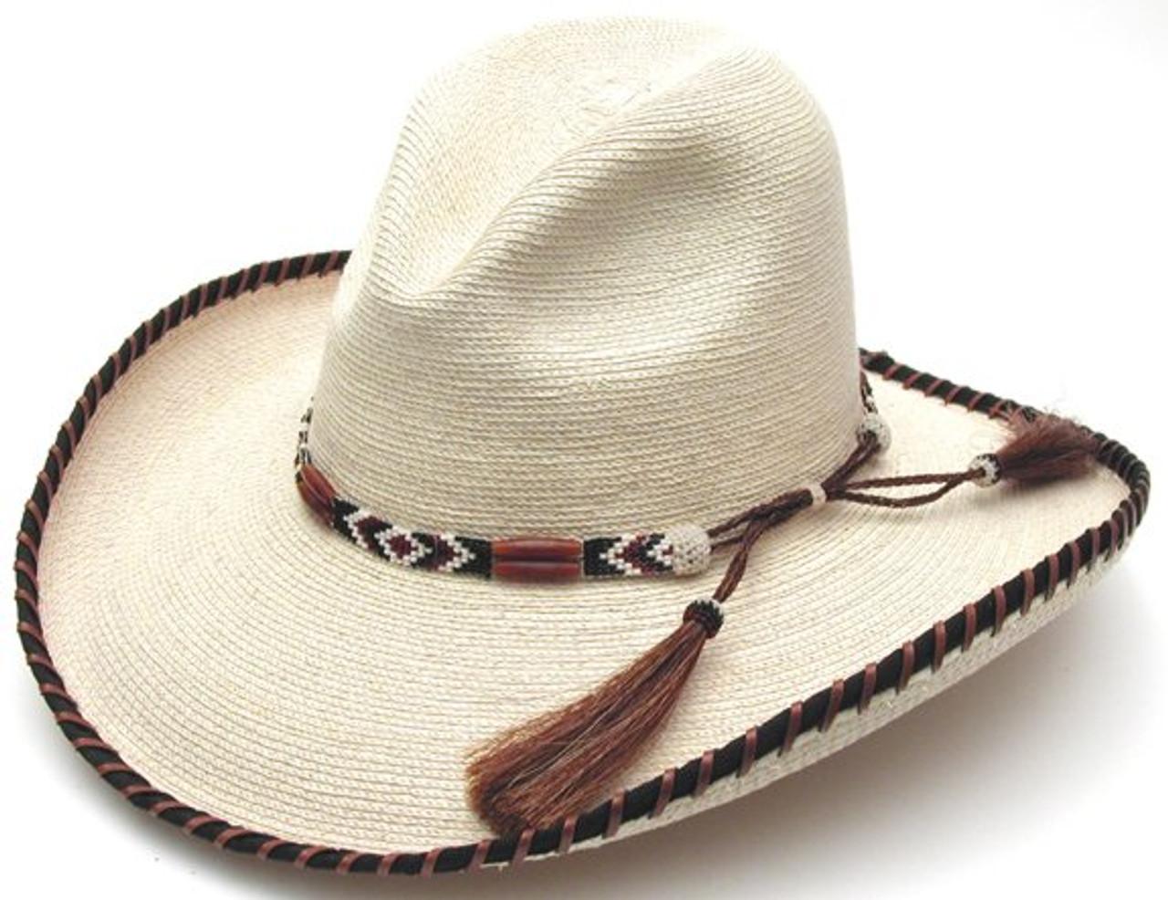 36929278 Amber Two- Step Palm Leaf Hat
