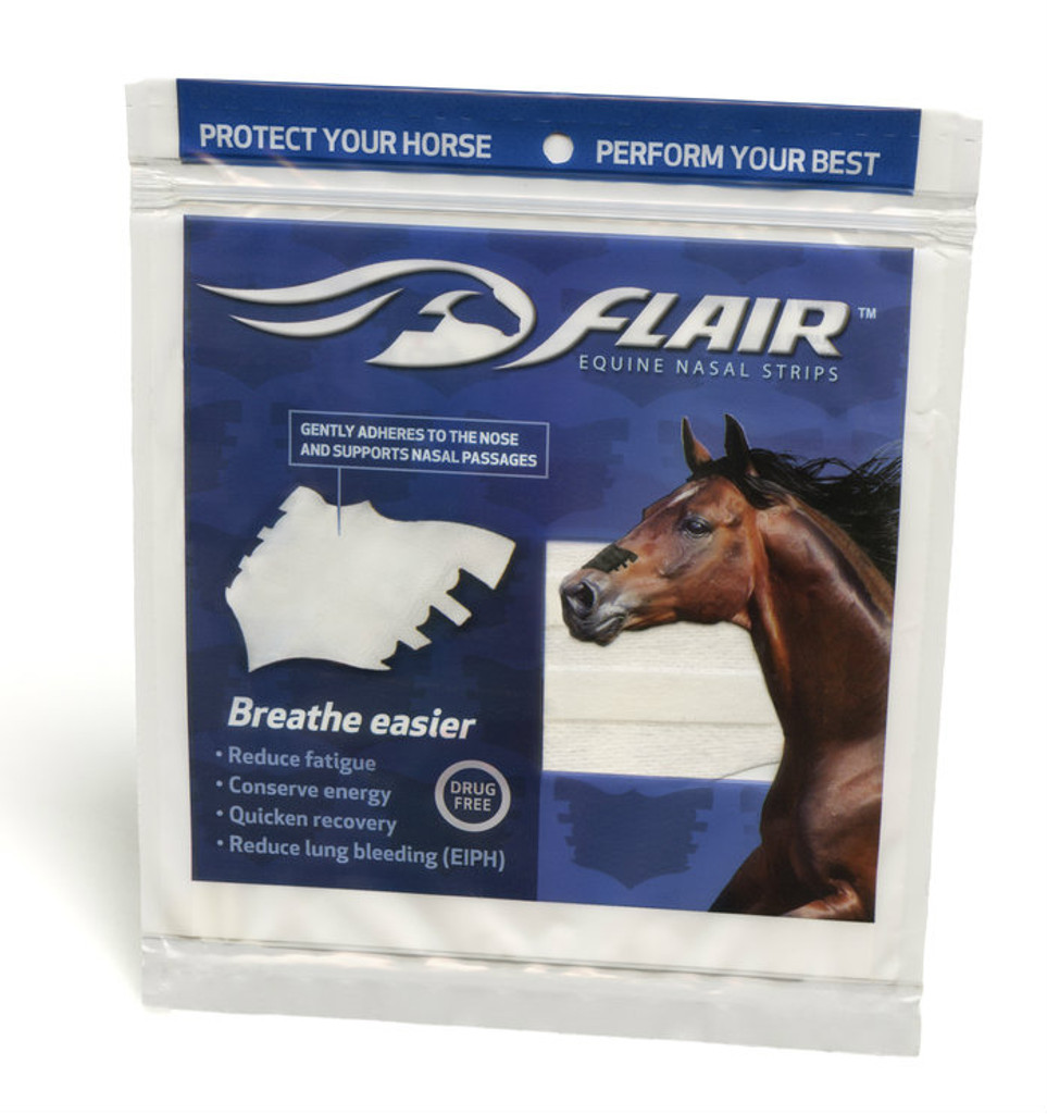White FLAIR Strips Package