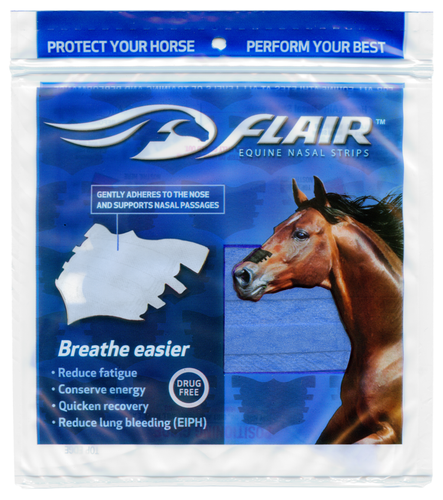Blue FLAIR Strips Package