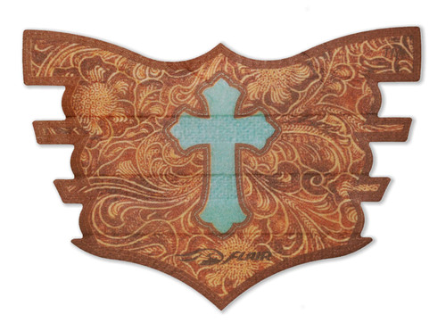 Leather Cross FLAIR Strip