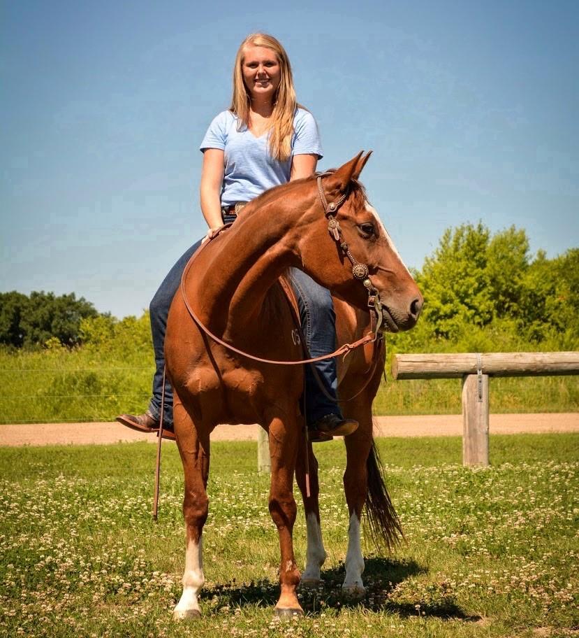 Allison Nordvall, Achieve Equine Customer Service Representative