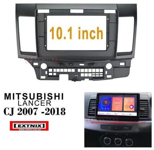 EXTNIX - 10.1inch Car Fascia For MITSUBISHI LANCER CJ Dash Installation Trim Refitting Facia Adaptor Panel Kit DVD Frame