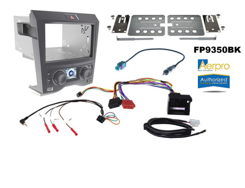Aerpro FP9350BK Install kit to suit Holden Commodore VE series 1