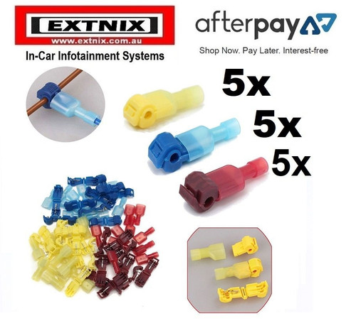 EXTNIX 15 X QUICK SPLICE WIRE CONNECTORS TERMINAL ELECTRICAL AUTOMOTIVE