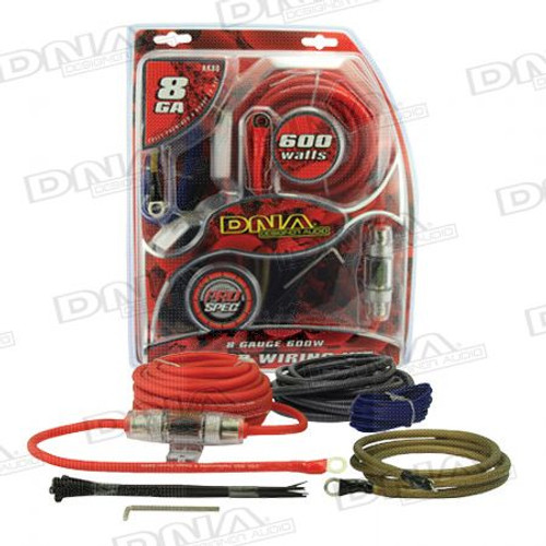 DNA - 8 Gauge 600W Amplifier Power Kit - AK80