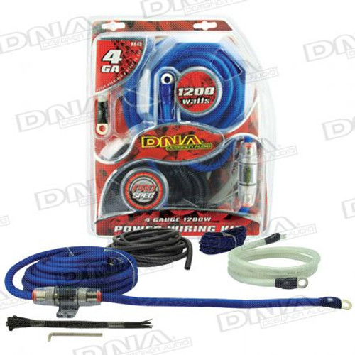 DNA - 4 Gauge 1200W Amplifier Kit - AK40