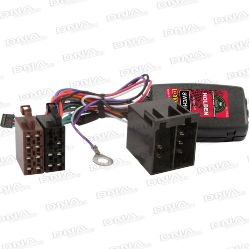 DNA - Steering Wheel Controller To Suit Holden Vehicles Astra Barina Vectra Zafira - SWCHL04