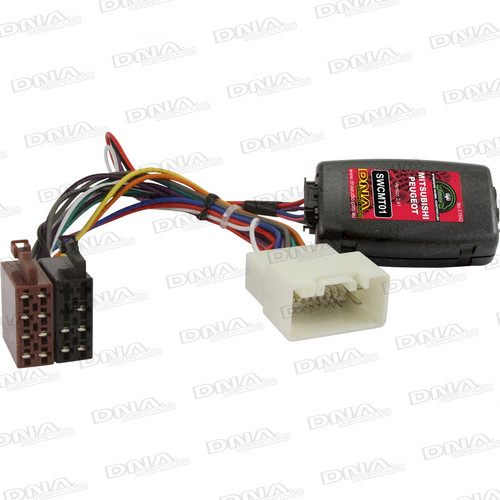 DNA - Steering Wheel Controller To Suit Mitsubishi & Peugeot Vehicles - SWCMT01