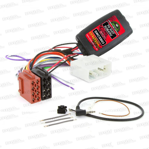 DNA - Steering Wheel Controller To Suit Subaru Forester 2002 to 2007 (SG) - SWCSB03