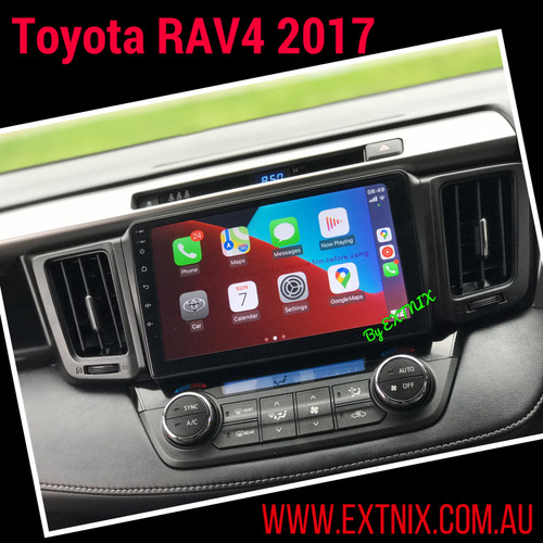 EXTNIX Premium Wireless Carplay Toyota RAV4  2013-2018 Infotainment System