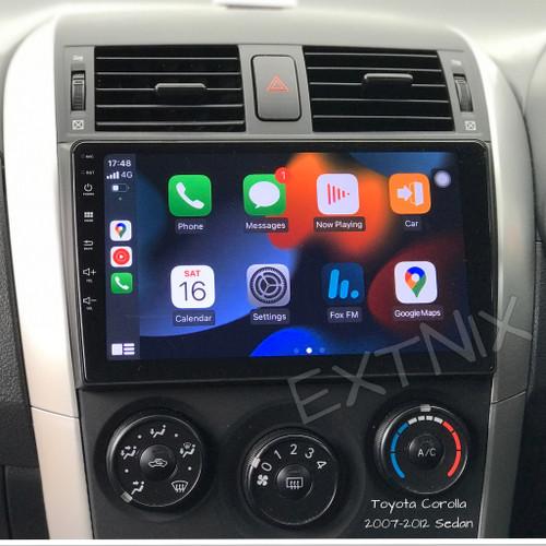 OziNavi TOYOTA Corolla Sedan 2007-2012 Carplay Android Auto Infotainment System