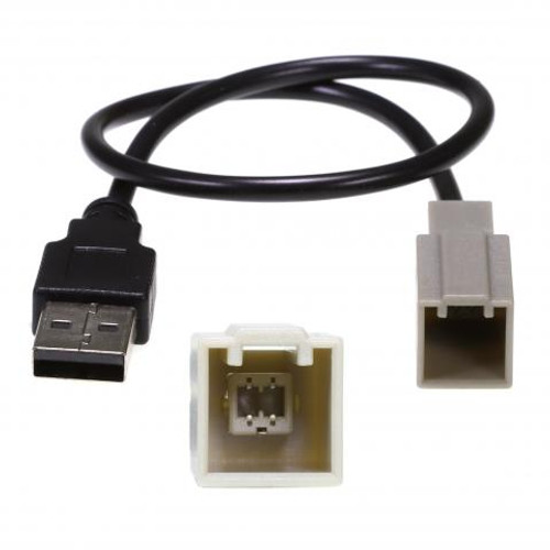 USB adaptor to suit Toyota Vehicles 2012 onward Corolla Camry Hilux 86 Aurion Kluger LandCruiser RAV4