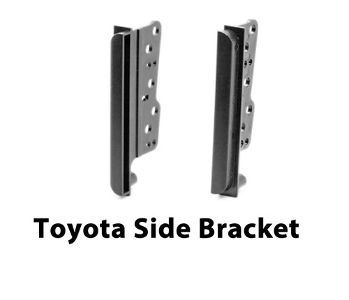EXTNIX - TOYOTA CAR STEREO DOUBLE DIN SIDE TRIM BRACKETS FACIA FASCIA RADIO SPACERS 2DIN