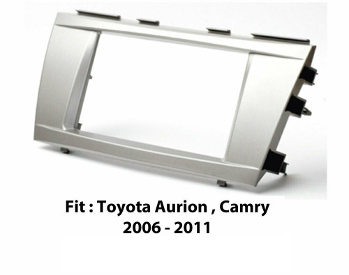 EXTNIX - TOYOTA CAR STEREO DOUBLE DIN FASCIA PANEL TO SUIT TOYOTA AURION CAMRY