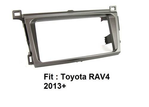 EXTNIX - TOYOTA CAR STEREO DOUBLE DIN FASCIA PANEL TO SUIT TOYOTA RAV4 2013+