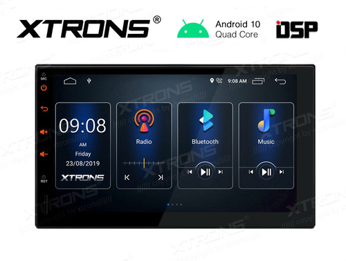 "Xtrons  Android 10 HD 7"" Touch Screen GPS DSP Bluetooth USB WiFi Infotainment System TSD700L"