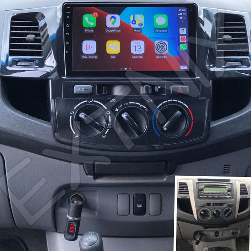 EXTNIX -  Wireless Carplay Upgrade for Toyota Hilux N70 2006 to 2014 Infotainment System