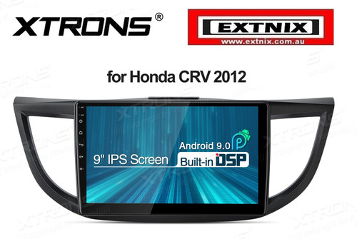 10.1 inch Android 9.0 IPS Screen with Built-in DSP Navigation Multimedia Player Fit for Honda CRV 2012 - 2014