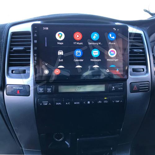 "EXTNIX  Apple CarPlay Android Auto Toyota Landcruiser Prado 120 9"" Touch Screen GPS Bluetooth Car Player Navigation Radio Stereo"